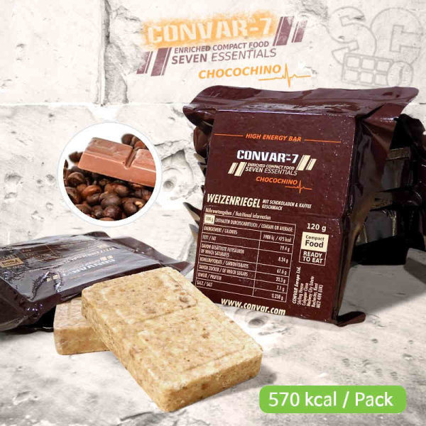 CONVAR-7 High Energy Bar - Chocochino 120g