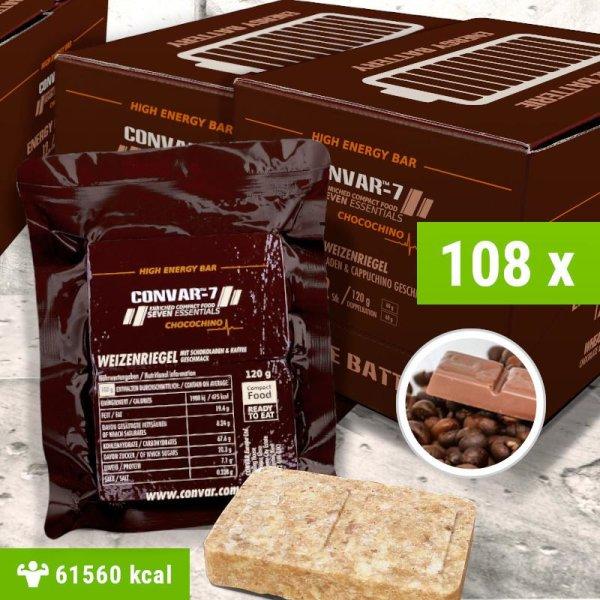 108 x CONVAR-7 High Energy Bar - Chocochino 120g