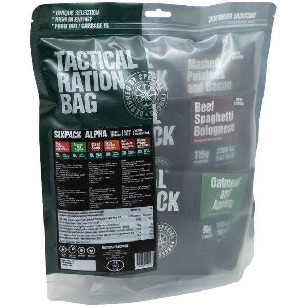 Tactical Six Pack Alpha - 2 Tage Ration