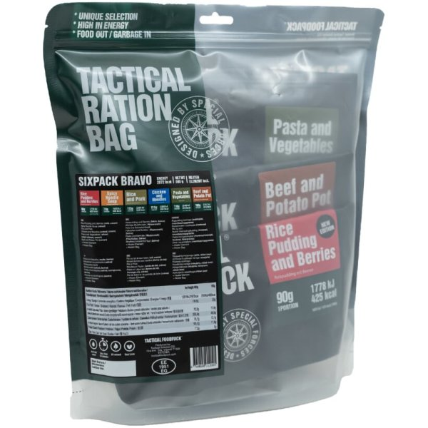 Tactical Six Pack Bravo - 2 Tage Ration