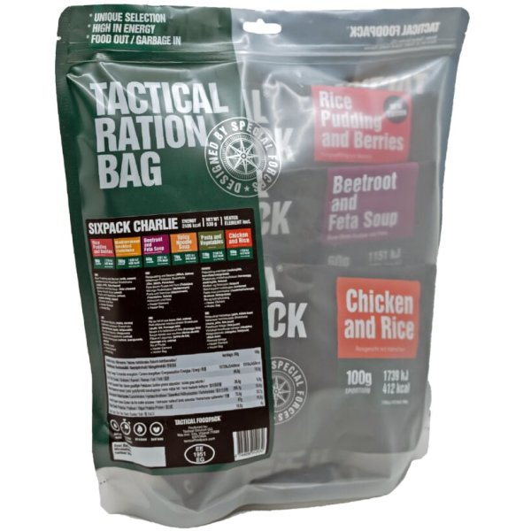 Tactical Six Pack Charlie - 2 Tage Ration