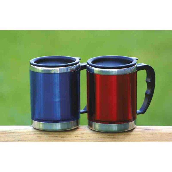 BasicNature Edelstahl Thermobecher Mug